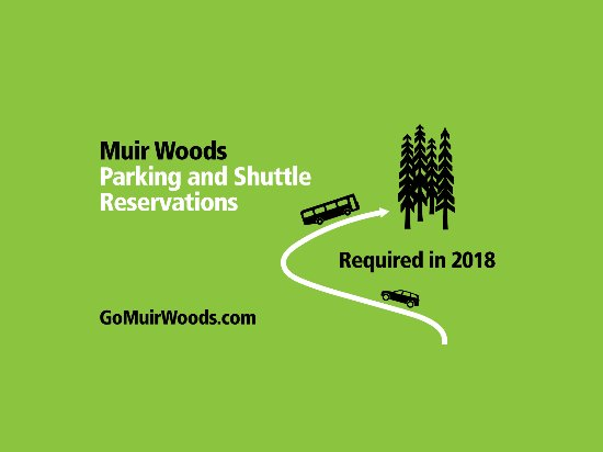 Mill Valley, Californië: Muir Woods Parking and Shuttle Reservations Required in 2018