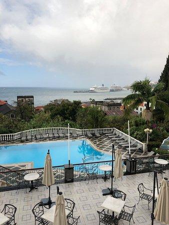 Hotel Quinta Bela Sao Tiago: Ungeheizter Pool