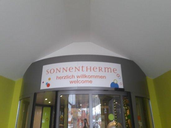 Sonnentherme Lutzmannsburg: Eingang