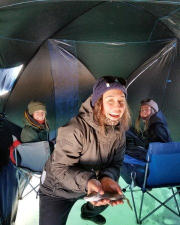 Dillon, CO: Landing salmon limits fast this ice season
