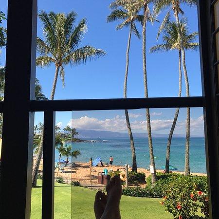 Napili Kai Beach Resort: From lanai