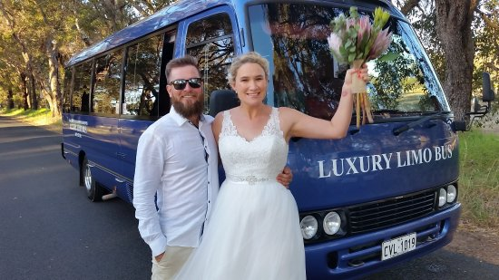 Busselton, Avustralya: For all your Wedding & Wedding Photography Transport