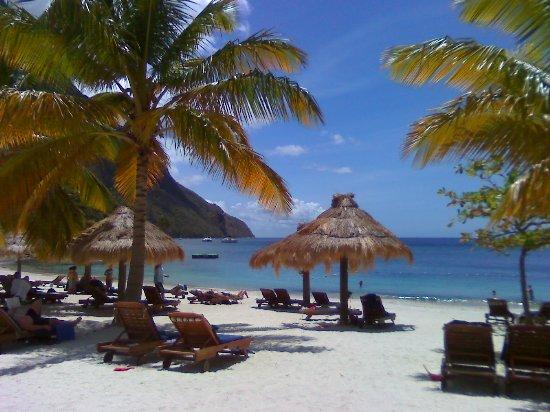Vieux Fort, St. Lucia: Jalousie Beach