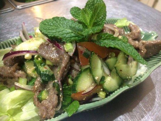 Гленелг, Австралия: Beef Salad
