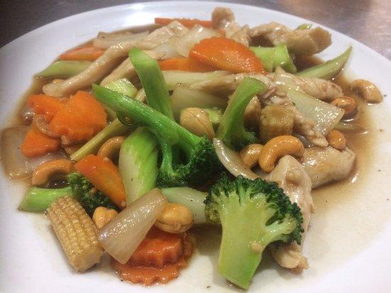 Гленелг, Австралия: Cashew nut Chicken Stir-fried