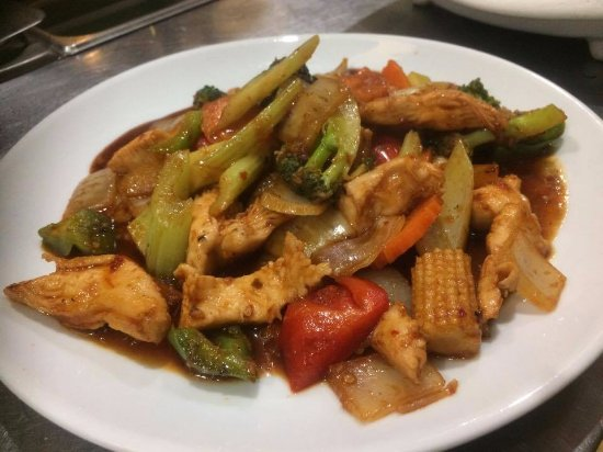 Coco House Cafe: Lemongrass Chili Stir-fried