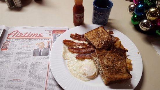 Wallingford, CT: $5.05 with Tax and Coffee Breakfast Special