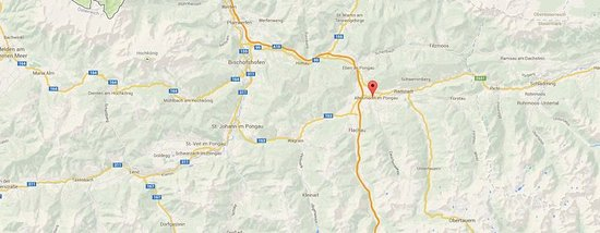 Altenmarkt im Pongau, Austria: Map