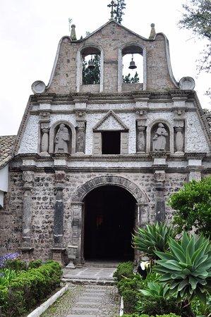 Lasso, Ecuador: The chapel, built 1588