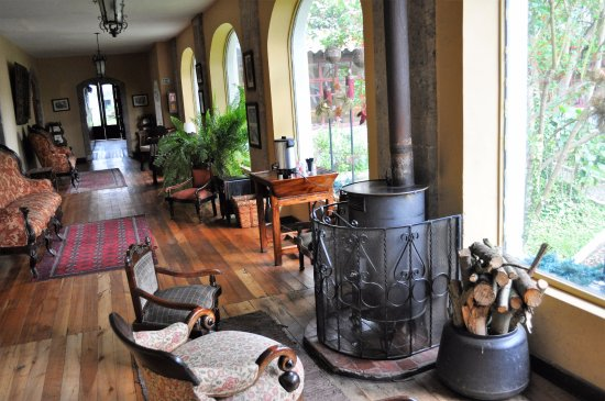 Lasso, Ecuador: Lounge area
