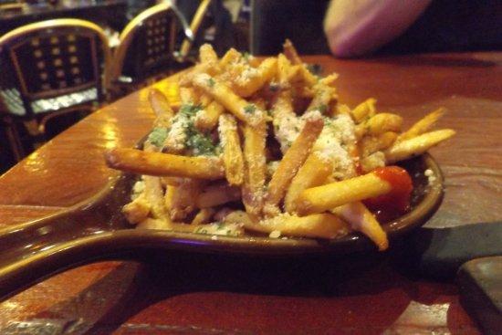 Rancho Mirage, Kalifornien: Parmesan fries