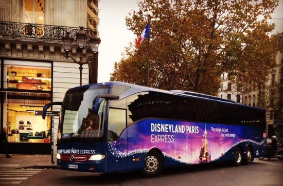 Disneyland Paris Express Shuttle with