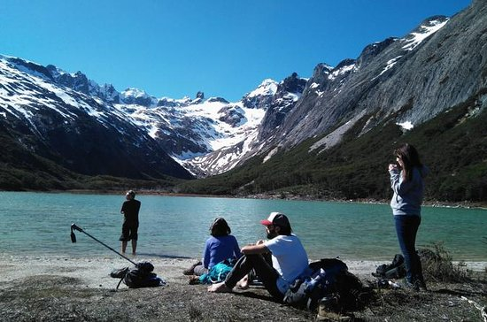 Trekking to Laguna Esmeralda with