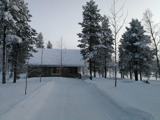 Enontekiö, Finlandiya: Our two-storey cabin
