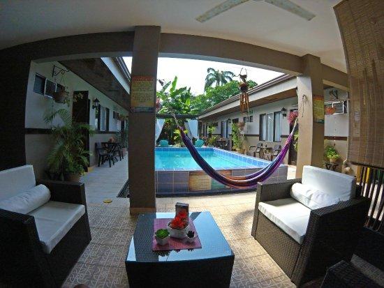Hotel Perico Azul: Our peaceful pool area