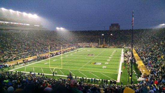 Notre Dame Stadium Foto