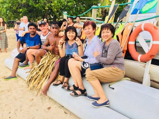 Robinson Crusoe Island Resort : Photo with Parker