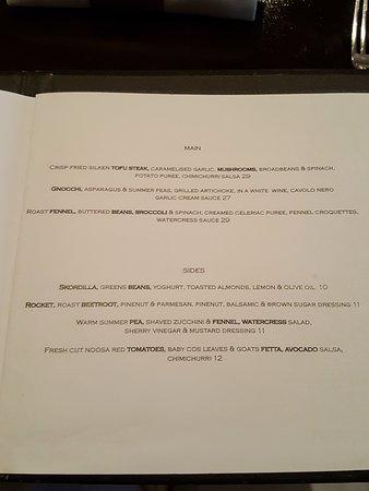 Little Humid Restaurant: Menu