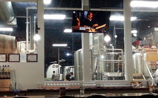 Schiller Park, IL: the brewing equipment