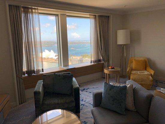 Shangri La Hotel Sydney Lounge Room