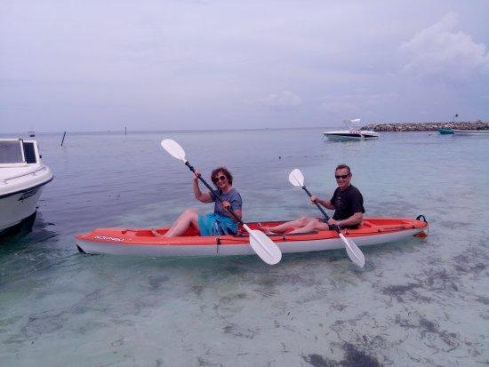Maafushi Island : Каякинг на Мальдивах. Маафуши. Ноябрь 2017