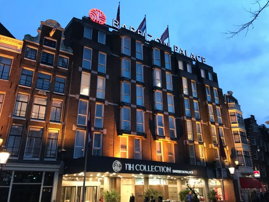 The hotel at dusk foto di nh collection amsterdam for Hotel amsterdam prezzi