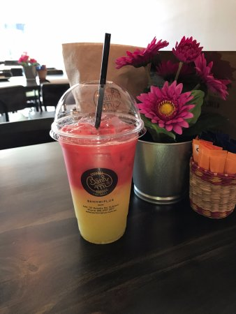 Subiaco, Australia: Strawberry Cane Juice