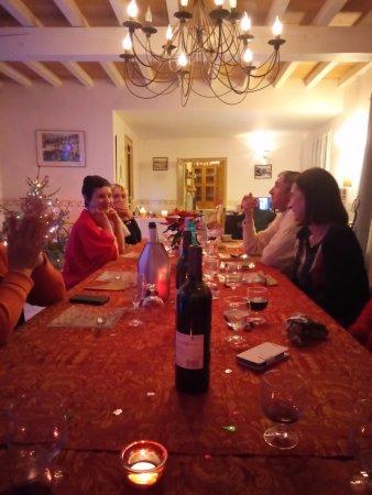 Castillon-du-Gard, Francia: Dïner du Réveillon
