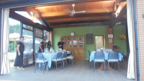 sala da pranzo - Foto di Country Resort Le Due Ruote, Alberese ...