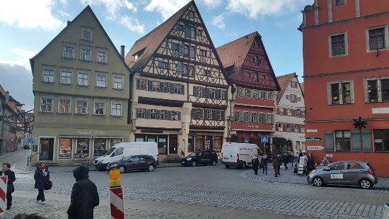 Dinkelsbuhl, ألمانيا: Case a graticcio