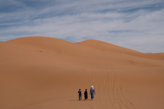 Arrahla Expedition 4x4: A walk in the dunes