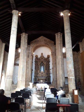 sober and quiet interior - Picture of Igreja Santiago, Coimbra ...
