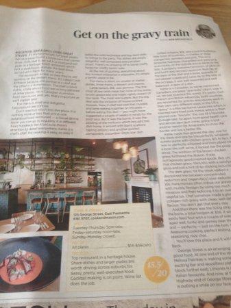 East Fremantle, Australia: Review