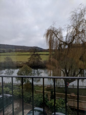 Batheaston, UK: Looking out over the river