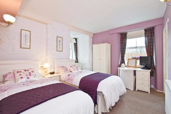 Calvine, UK: The Twin Room has a large bathroom and is situated on the ground floor