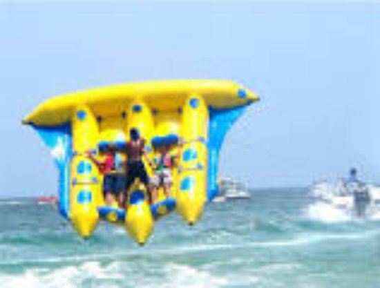 Tanjung Benoa, Endonezya: Flying fish watersport