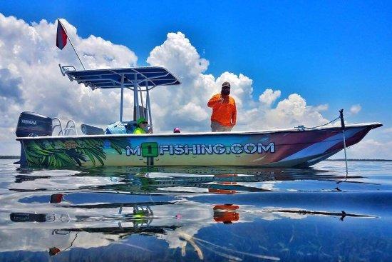 Steinhatchee, Флорида: Marker One Flats Charters