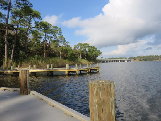 Niceville, FL: View from boat launch on Rocky Bayou.