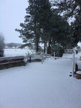North York Moors National Park, UK: Snow At Overbrook Didn't Stop These Guests