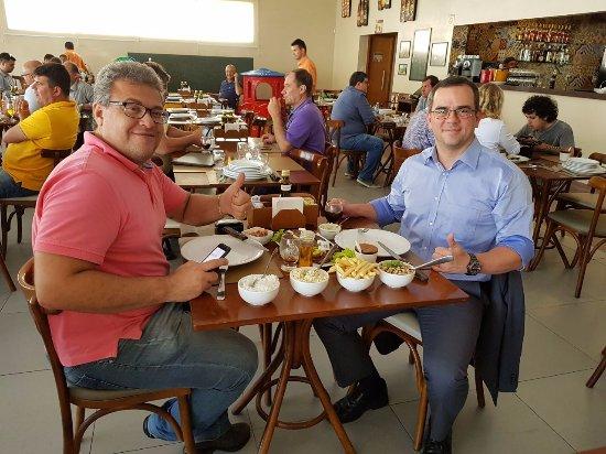 Lauro de Freitas: Almoço com um grande amigo de infância.