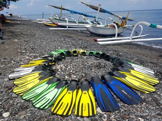 Ocean Sun Dive Resort Tulamben: organisierter Tauchausflug nach Amed