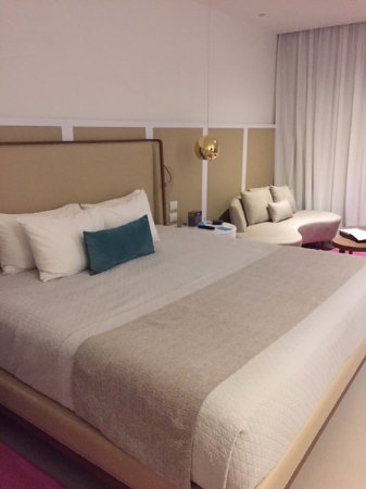 Huge bed in premium room