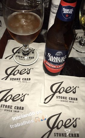 Joe's Stone Crab: Samuel