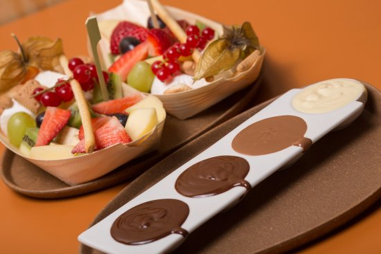 Purmerend, The Netherlands: Chocoladefondue.