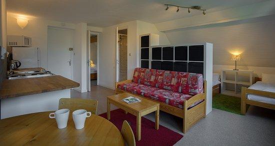 Oz en Oisans, Γαλλία: Rooms are spacious.