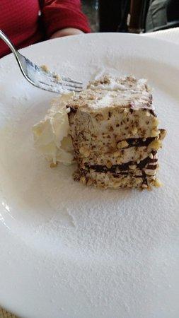 Plomin, Kroatien: torta di noci fatta in casa....