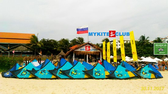 Mui Ne, فيتنام: Kite center in Vietnam - IKO kite school MYKITECLUB