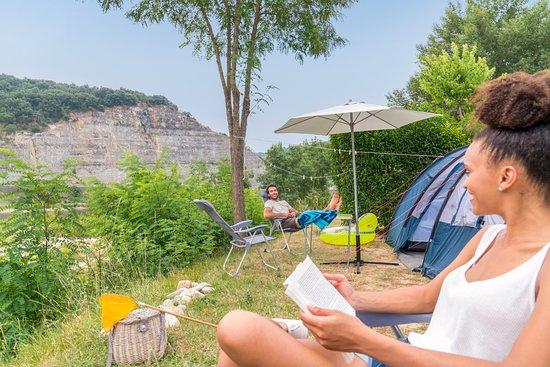 Sampzon, France: Nos emplacements
