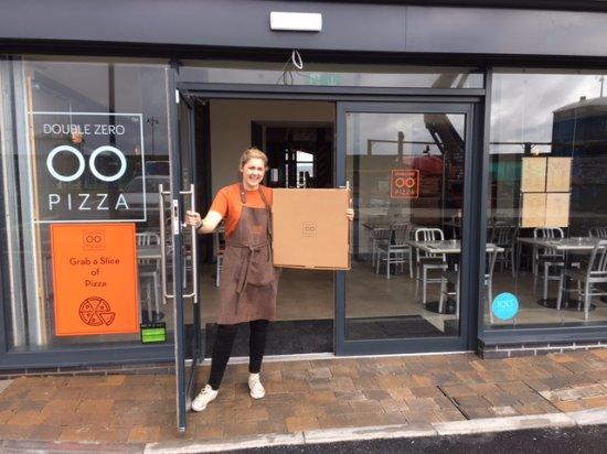 now delivering double zero pizza porthcawl. Black Bedroom Furniture Sets. Home Design Ideas