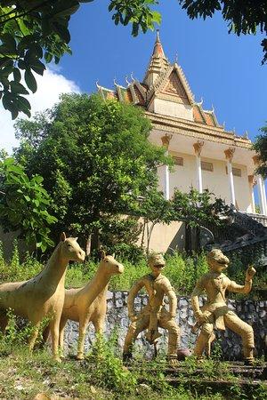 Kep, Camboya: Pagode
